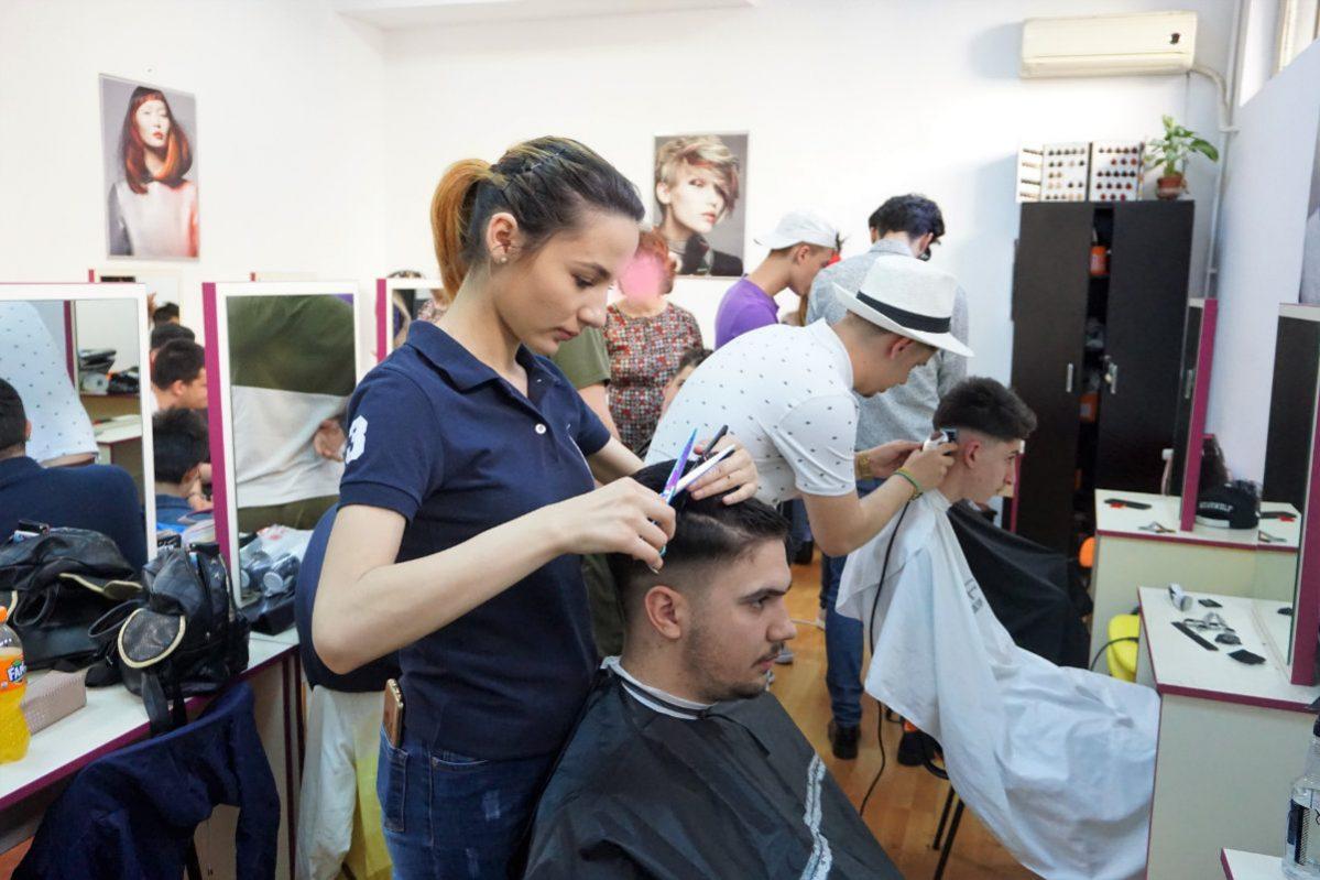 Cursuri frizerie barbati